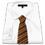 Shirt Brown Tie icon