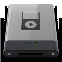 HDD Grey iPod B