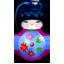Kokeshi pink icon