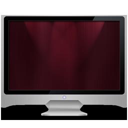 My Computer dark red