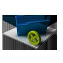 Blue Folder Delete-128