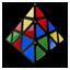 Mefferts Pyraminx Mixed Icon