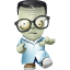 Geek Zombie icon