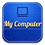 Mycomputer retro icon