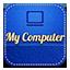 Mycomputer retro icon
