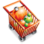 Christmas Shopping Cart icon