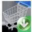 Shopcart Down icon