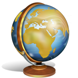 Earth Globe Icon Download Old School Icons Iconspedia