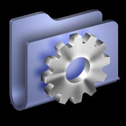 Developer Blue Folder