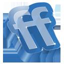 Friendfeed 3D-128