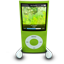 Green iPod Nano icon