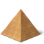 Egypt Pyramid Icon