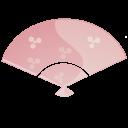Fan pink-128