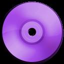Cd DVD Purple-128
