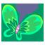 Green Butterfly-64