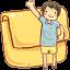 Folder Boy Icon
