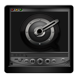Black QuickTime Player