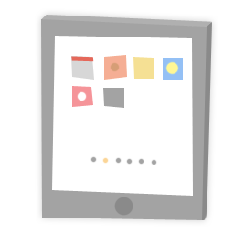 Tablet Icon Download Colorful Morning Icons Iconspedia