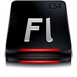 Adobe Flash CS4 Black
