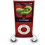 Red iPod Nano icon