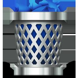 trash full icon download mac os x style icons iconspedia
