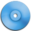 Cd DVD Blue icon