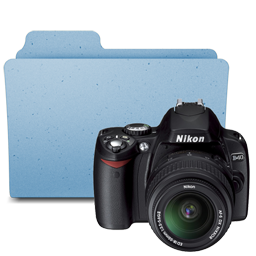 Nikon D40 folder