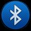 Bluetooth Round Icon