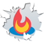 Inside feedburner icon