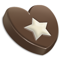 Chocolate Star-256