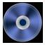Blue Metallic CD Icon