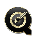 QuickTime Black and Gold-128