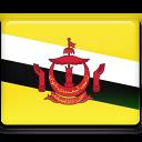 Brunei Flag-128