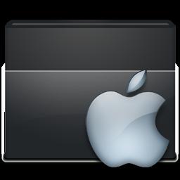 Black Folder Apple