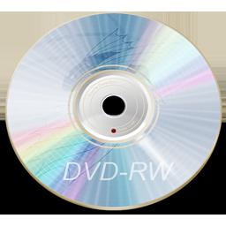 Dvd rw blue