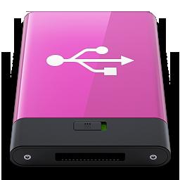 HDD Pink USB W
