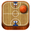 Basketball wooden Icon