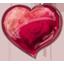 Herz rot Icon