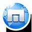 Round Maxthon icon