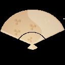 Fan beige-128