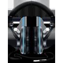 Black and Blue Headphones-128