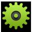 Settings green icon