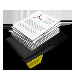 My Documents Pile Yellow