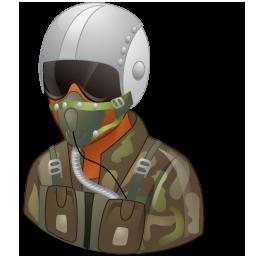 Pilotmilitary Male Dark