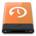 HDD Orange Time Machine W-128