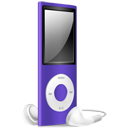 iPod Nano purple off-128