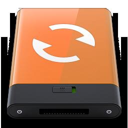 HDD Orange Sync W