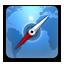 Safari rounded Icon