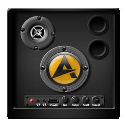 Black Aimp Icon Download Blackbeauty Icons Iconspedia