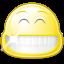 Gnome Face Smile Big icon
